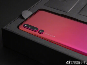 Honor Magic 2 in rot