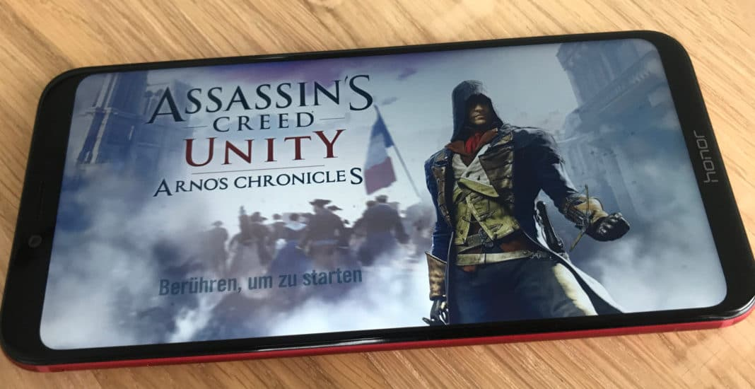 Honor Play, Smartphone, Gaming, Gamescom, 2018, Assasins Creed