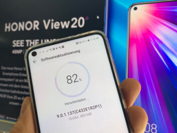 Honor View 20 Update