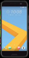 Das HTC 10 in der Frontalansicht auf weißem Grund.