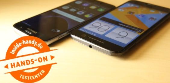 HTC 10 gegen Samsung Galaxy S7