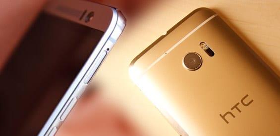 Vergleich zwischen HTC 10 und HTC One M9