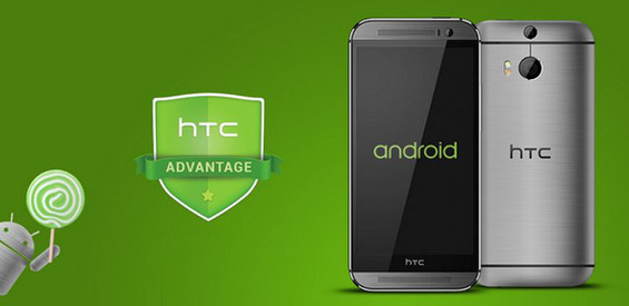 HTC Android 5.0 Lollipop Update