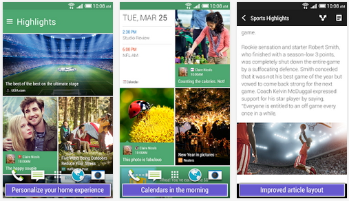 HTC BlinkFeed im Play Store