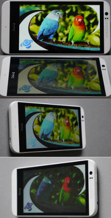 HTC Desire 510: Display