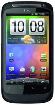 HTC Desire S Datenblatt - Foto des HTC Desire S