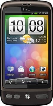 HTC Desire Datenblatt - Foto des HTC Desire
