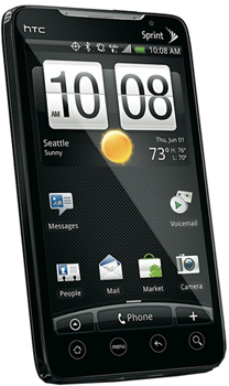 HTC EVO 4G Datenblatt - Foto des HTC EVO 4G