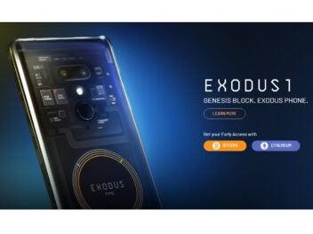 HTC exodus 1 Blockchain-Smartphone