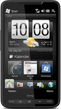 HTC HD2 Datenblatt - Foto des HTC HD2