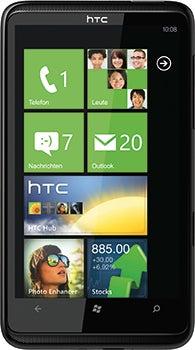 HTC HD7 Datenblatt - Foto des HTC HD7
