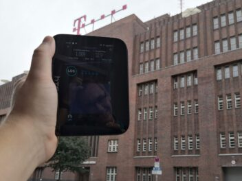 Der HTC 5G Hub im Telekom-5G-Netz