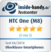 HTC One (M8): Testsiegel