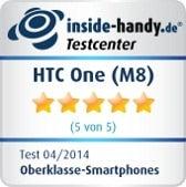 HTC One (M8): Testsiegel