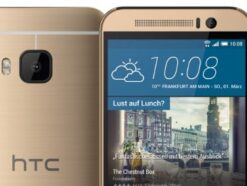 HTC One M9 in Gold on Gold