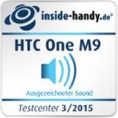 HTC One M9 Sound-Testsiegel