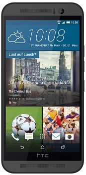 HTC One M9 Datenblatt - Foto des HTC One M9