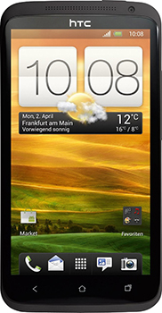 HTC One X Datenblatt - Foto des HTC One X