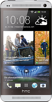 HTC One Datenblatt - Foto des HTC One