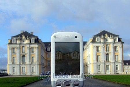 HTC P3600: beim Fotografieren