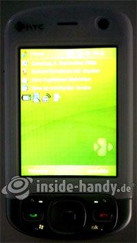 HTC P3600: Beleuchtung
