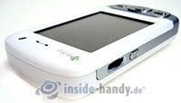 HTC P3600: Draufsicht oben links