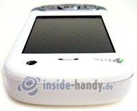 HTC P3600: Draufsicht oben