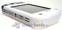 HTC P3600: Draufsicht rechts oben