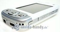 HTC P3600: Draufsicht unten rechts