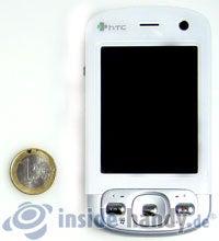 HTC P3600: Größenverhältnis