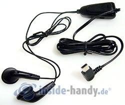 HTC P3600: Headset