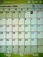 HTC P3600: Kalender