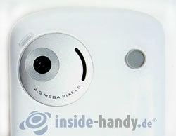 HTC P3600: Kamera