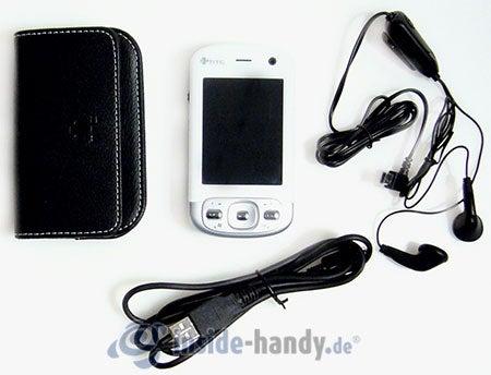 HTC P3600: Lieferumfang