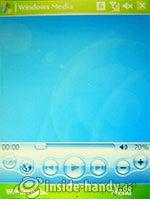HTC P3600: Mediaplayer