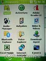 HTC P3600: Programme