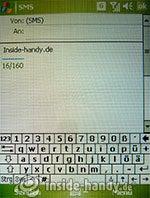HTC P3600: SMS