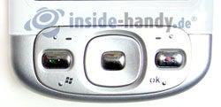 HTC P3600: Tastatur
