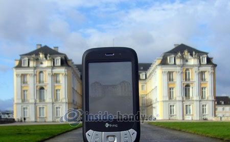 HTC P4350: beim Fotografieren