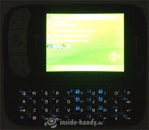 HTC P4350: Beleuchtung