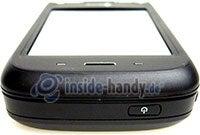HTC P4350: Draufsicht oben
