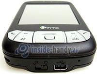 HTC P4350: Draufsicht unten