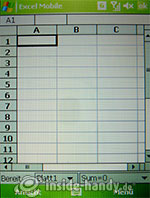 HTC P4350: Excel
