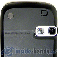 HTC P4350: Kamera