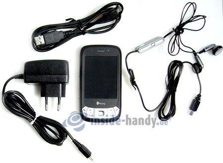 HTC P4350: Lieferumfang