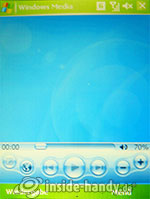 HTC P4350: Media-Player