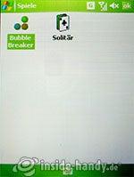 HTC P4350: Spiele