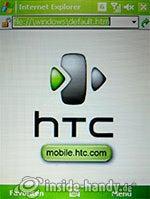 HTC P4350: Webbrowser