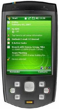 HTC P6500 Datenblatt - Foto des HTC P6500
