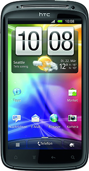 HTC Sensation Datenblatt - Foto des HTC Sensation